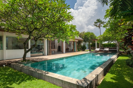 this is the stunning villa maz 2 . 4 bedrooms villa in berawa canggu